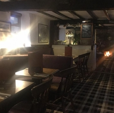 Photo of seating area in The Swinside inn