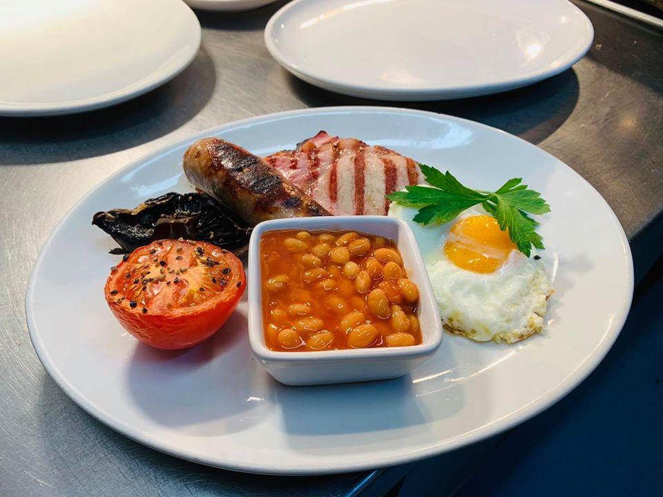 Swinside Inn Breakfast minus Black Pudding/Haggis